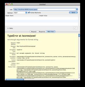 HttpClient 'Web View'